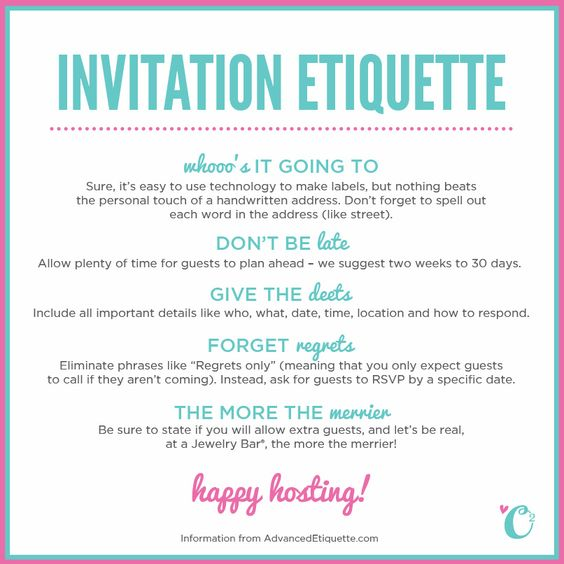 etiquette for valentine's day