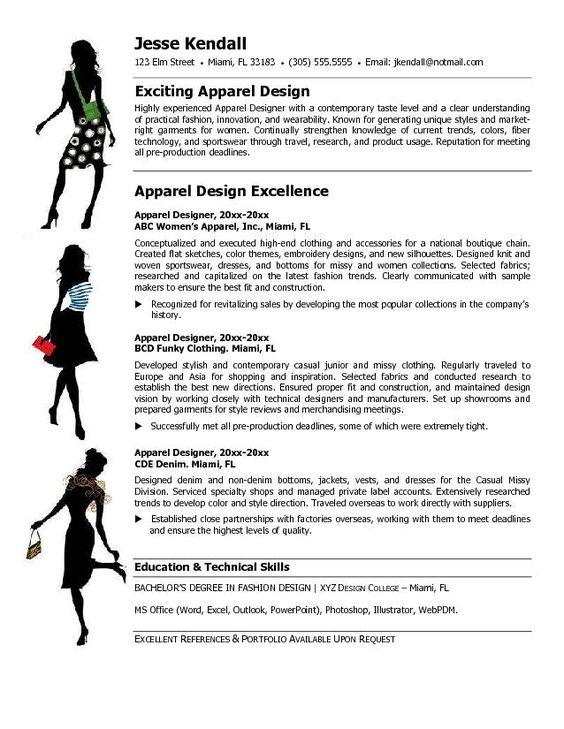 fashion stylist resume objective http www resumecareer