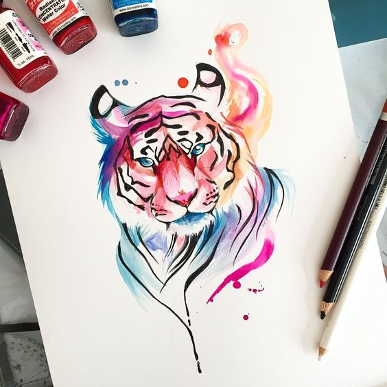 Tiger   Done by the talented @Katy_Lipscomb
