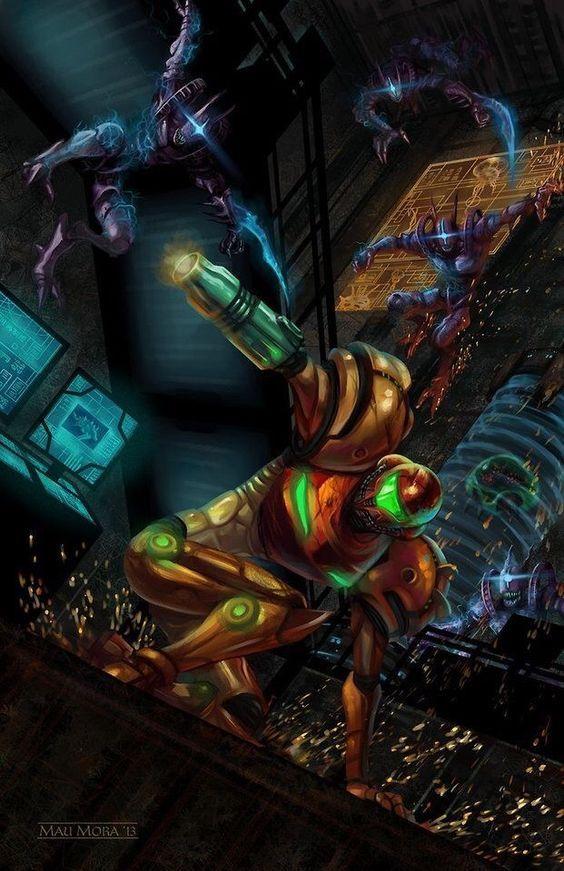 Metroid Wallpaper Metroid Cosplayclass Gaming