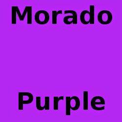 Mi Palabra Del Dia: Morado The Color Purple