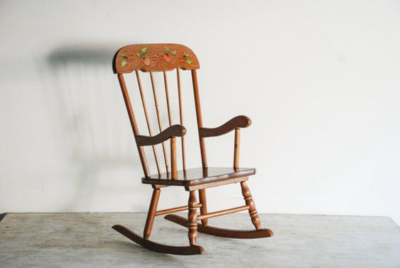 Childs Rocking Chair Wooden Chairs And Rocking Chairs On