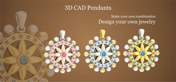 3D CAD Pendants