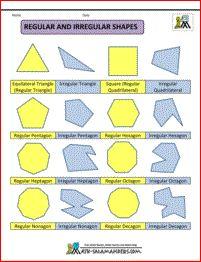 polygon shapes regular and irregular shapes col   School ...   201 x 262 jpeg 14kB