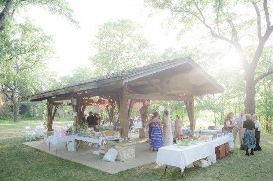 State Park Wedding, picnic area