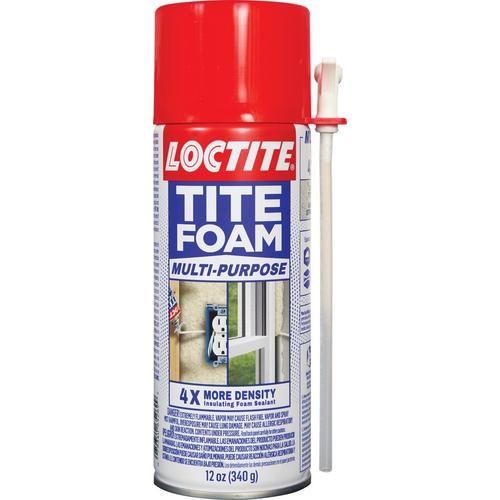 2 Cans 16 Loctitetite Foam Multi Purpose 12 Oz Spray Foam Insulation In 2020 Foam Insulation Spray Foam Insulation Spray Foam