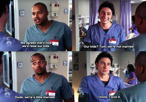 """we're a little married"" this is the reason why i am going in to the medical field lol"