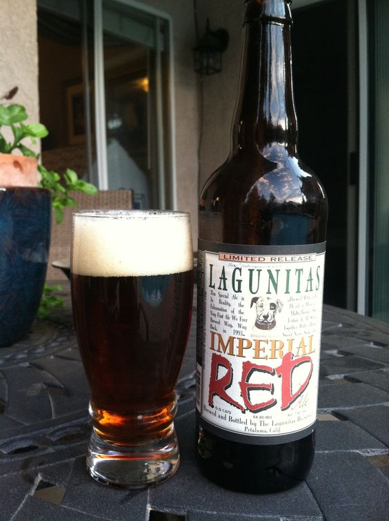 Lagunitas Imperial Red Ale: