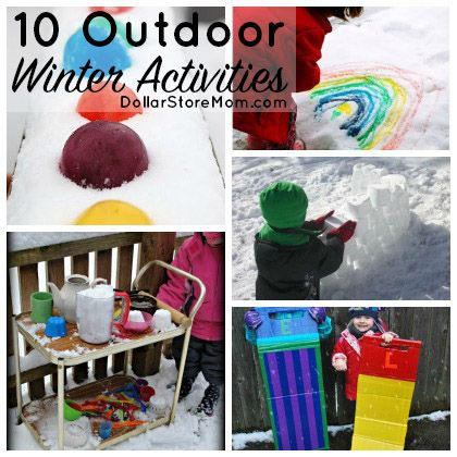 10 winter outdoor activities