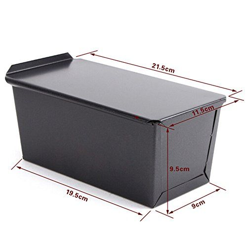 450g Loaf Pans Rectangle Nonstick Box Loaf Tin Kitchen Pastry