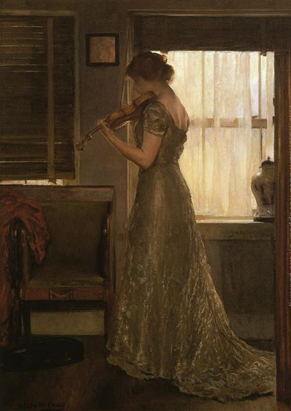 The Violinist by Joseph Rodefer DeCamp