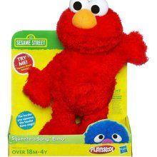 Playskool Sesame Street Squeeze-a-Song Elmo - in de kast