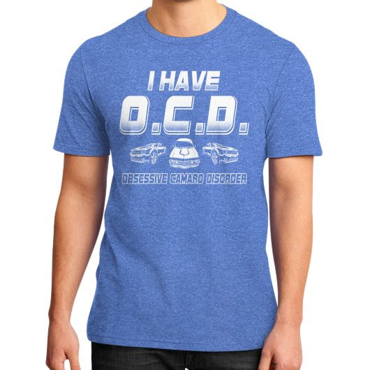 I HAVE OCD District T-Shirt (on man)