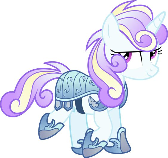 This is how I imagined Flurry Heart looks like by xebck on DeviantArt