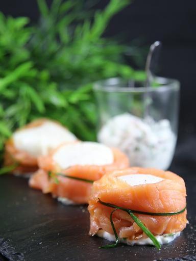 Ballotins de saumon fumé à l'oeuf poché : Une fois que l'on sait réussir des oeufs pochés, un succès !