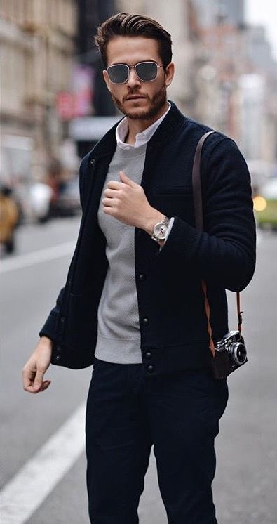 Urban Style Black Jacket