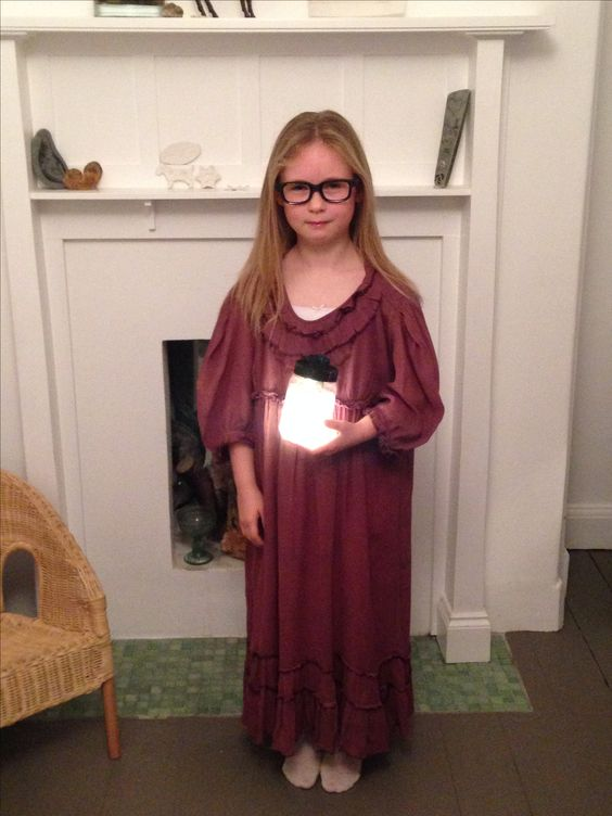 Fancy dress for Roald Dahl Day at school: Sophie from BFG