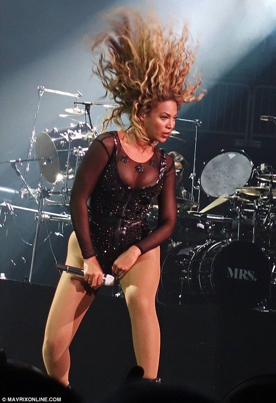 Image result for human hair blend beyonce wigs