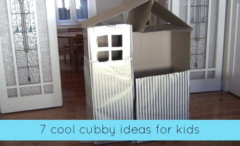 Cubby ideas for kids