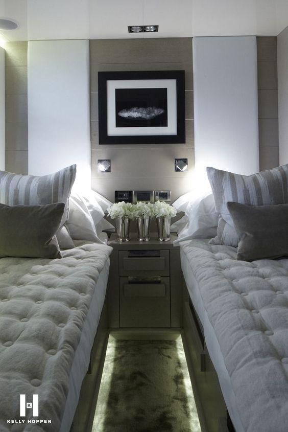 Kelly-Hoppen-inside-luxry-yacht.jpg (6671000)   Boat..Float..   Pinterest    Kelly hoppen, Mattress and Bedrooms