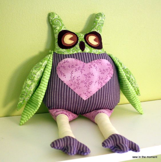 Internet Owl – Free pattern and tutorial