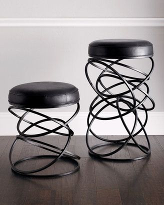 Neiman Marcus Global Views Dancing Circles Stool