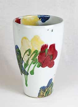 Dartington Poppy vase