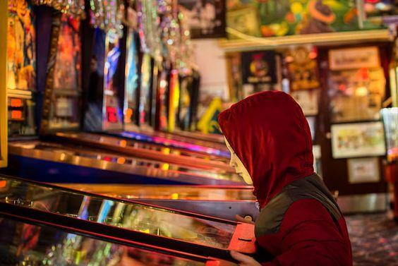 At the arcade | markie623