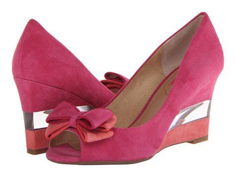 Isaac Mizrahi New York Jujubee 2 Pink Multi Suede - Zappos.com Free Shipping BOTH Ways