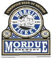 mordue workie ticket - This sturdy ale is consistently good from head to finish and while not overly rich offers a pleasant blend of caramel and chestnut flavours.