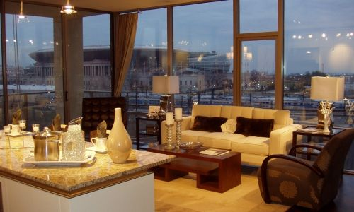 A condo with a view...