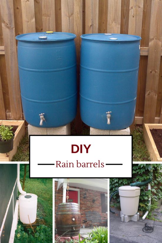 Thinking About Building Your Own Rain Barrel To Save On 400 x 300