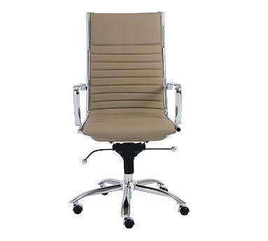Fowler High Back Swivel Desk Chair High Back Office Chair