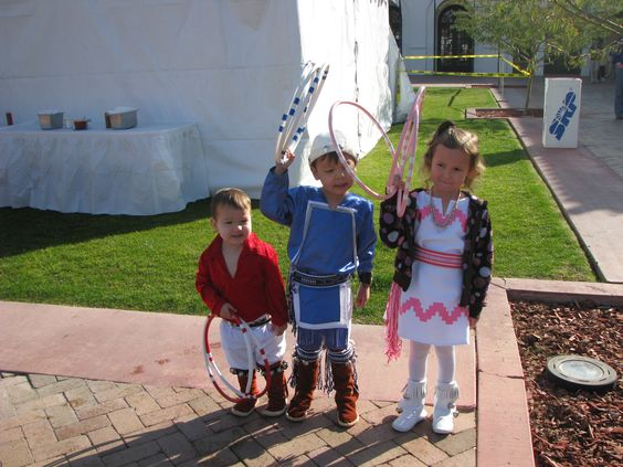 Hoop Dancers in Training - Heard Museum Phoenix