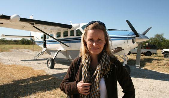 Steffi - BOTSWANA - die gebürtige Berlinerin veranstaltet Safaris ins einzigartige Okavango Delta