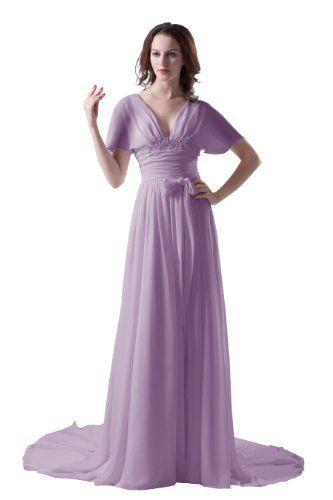 Dresstells Light Purple Long Chiffon Formal Evening Dress US Size 2 Light Purple Dresstells http://www.amazon.com/dp/B00DW9586M/ref=cm_sw_r_pi_dp_FtPYtb1N0RRWQF1X