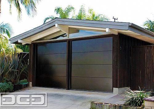 Retro Garage Door Decoration Ideas And Modern Designs For Mid