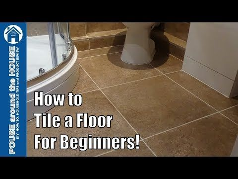 How To Tile A Bathroom Shower Floor Beginners Guide Tiling Made Easy For Diy Enthusiasts Youtube Bathroom Tile Diy Shower Floor Bathroom Remodel Small Diy