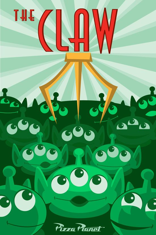 The Claw by Danny Handke, Available in WonderGround Gallery in Downtown Disney District at the Disneyland Resort