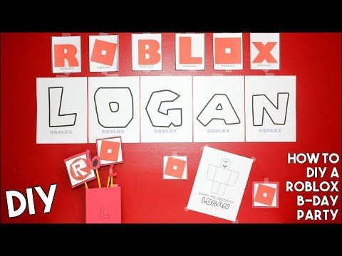 Diy Roblox Birthday Party Awesome Easy Inexpensive Gamer