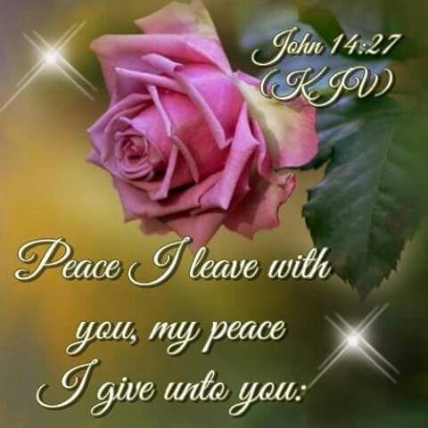 John 14:27: