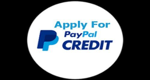 Paypal credit apply uk
