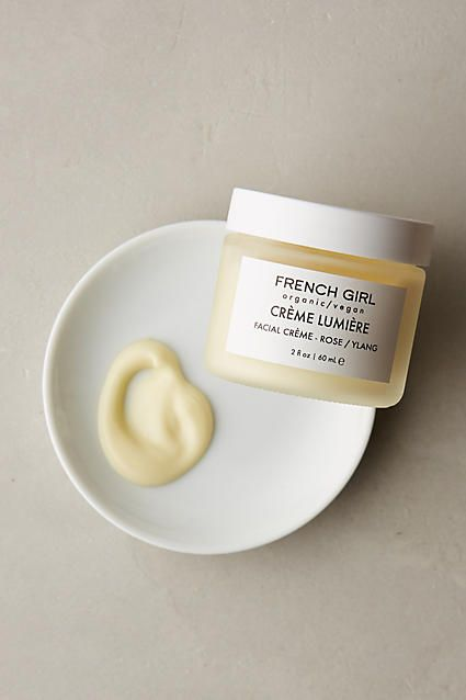 French Girl all-natural, vegan face cream
