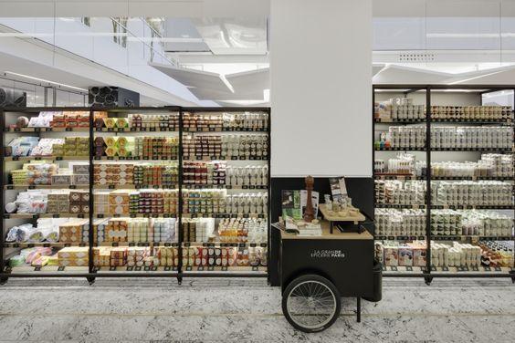 Retail Design Paris And Supermarket Design On Pinterest
