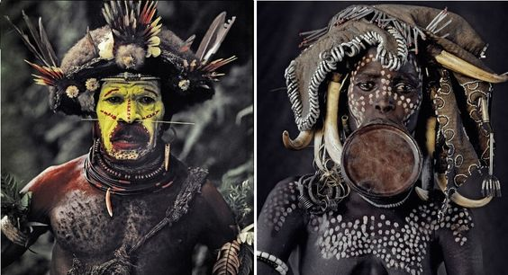 Stunning Photographs Of Disappearing Tribes From Around The World