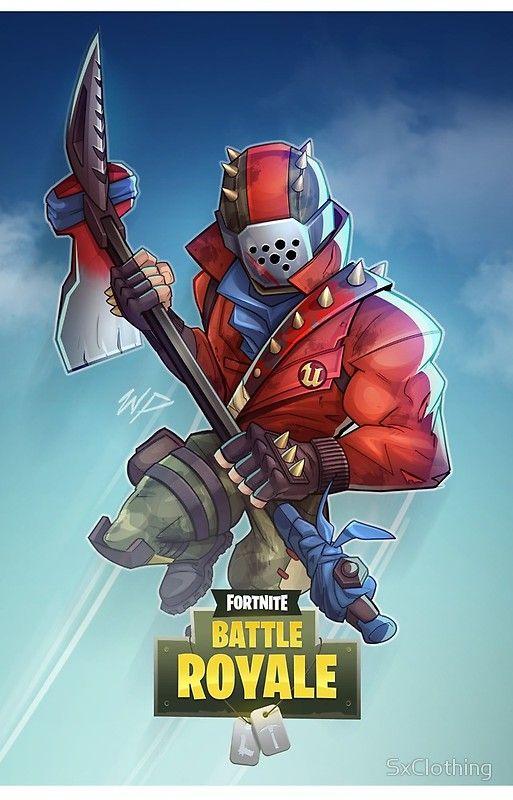 Fortnite Rust Lord In 2019 Ninja Wallpaper Video Game Art