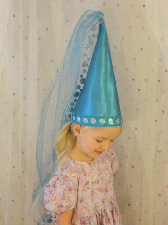 princess cone hat template - hats aqua and princesses on pinterest