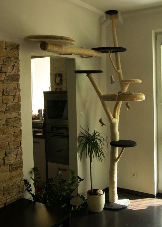 alles f r den kater kitty pinterest selbstgemacht hausgemachte kratzb ume und kratzb ume. Black Bedroom Furniture Sets. Home Design Ideas