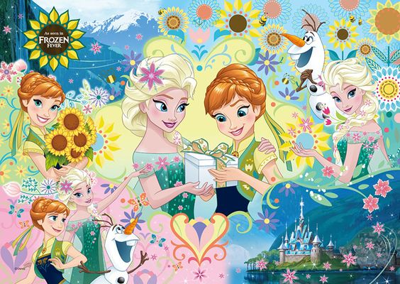 渡すアナと雪の女王