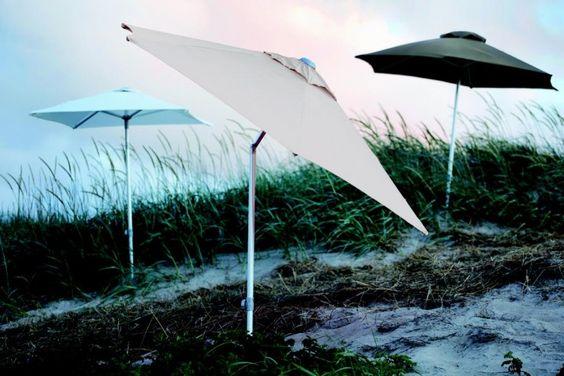 Jan Kurtz Elba - Sonnenschirm Ø 250 cm weiß online kaufen | IchLiebeDesign.de